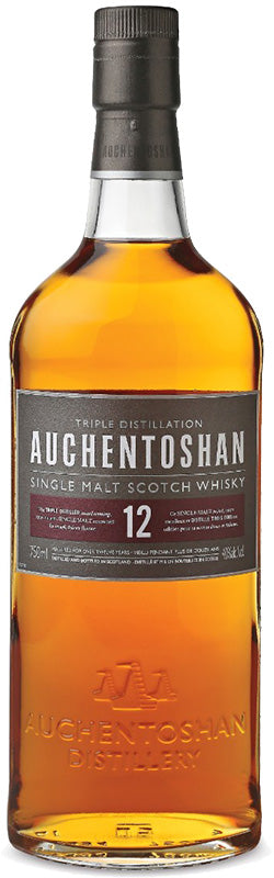Load image into Gallery viewer, Auchentoshan 12 Year Old Single Malt Scotch Whisky