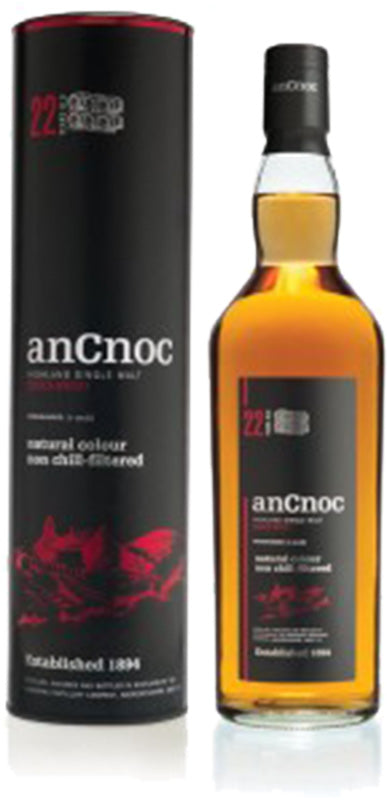 Load image into Gallery viewer, anCnoc 22 Year Old Single Malt Scotch Whisky