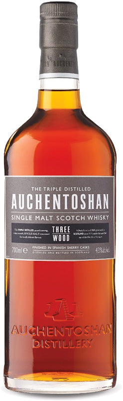 Load image into Gallery viewer, Auchentoshan Three Wood Lowland Single Malt Scotch Whisky