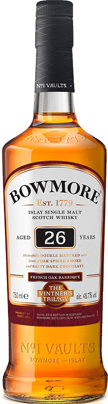 Bowmore 26 Year Old Single Malt Scotch Whisky