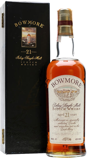 Bowmore 21 Year Old Single Malt Scotch Whisky