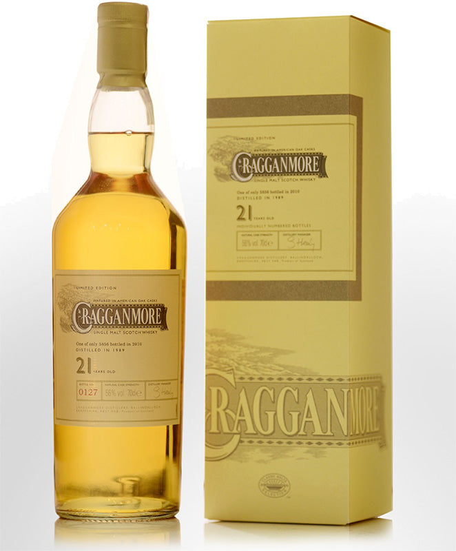 Cragganmore 21 Year Old Single Malt Scotch Whisky