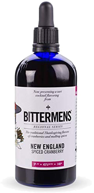 Load image into Gallery viewer, Bittermens New England Spiced Cranberry Bitters 5oz
