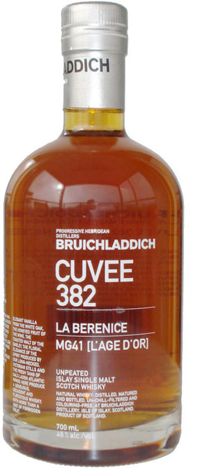 Bruichladdich Cuvee 382 21 years La Berenice Single Malt