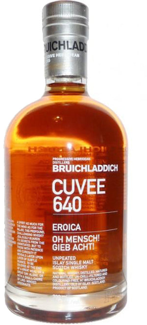 Load image into Gallery viewer, Bruichladdich Cuvee 640 21 years Eroica Single Malt