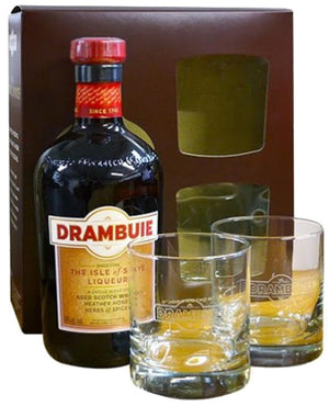 Drambuie Scotch Liqueur Gift Set
