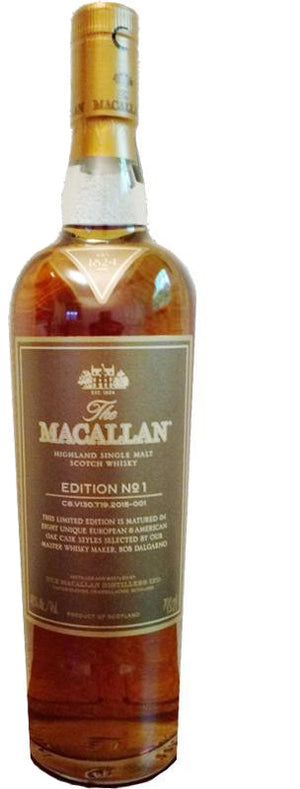 Load image into Gallery viewer, The Macallan Edition No.1 Highland Single Malt Scotch Whiskey