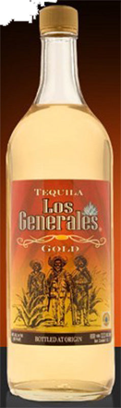 Load image into Gallery viewer, Los Generales Tequila Gold