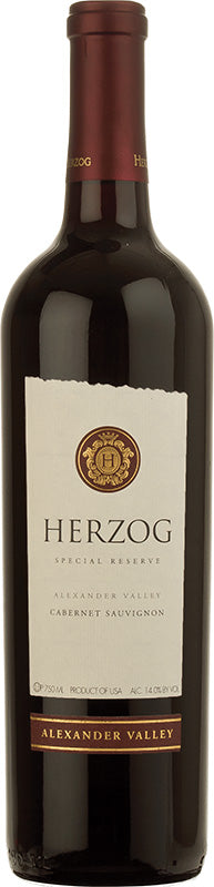 Load image into Gallery viewer, Herzog Special Reserve Alexander Valley Cabernet Sauvignon