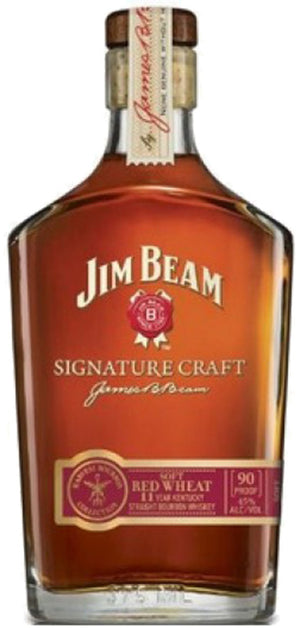 Load image into Gallery viewer, Jim Beam 11 Year Old Signature Craft Red Wheat