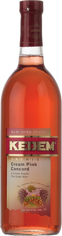 Load image into Gallery viewer, Kedem Cream Pink Concord 1.5L