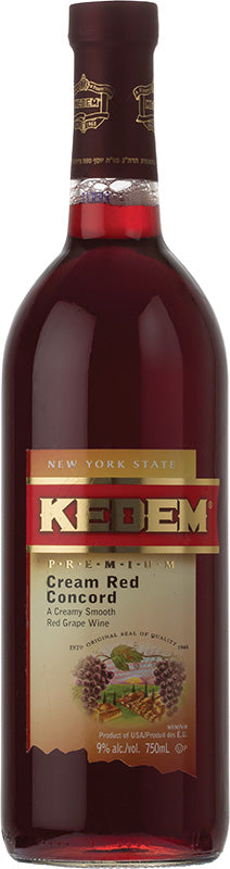 Load image into Gallery viewer, Kedem Cream Red Concord .187ml