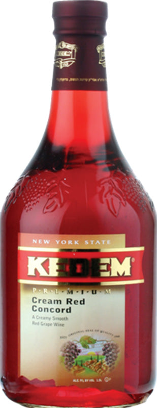 Load image into Gallery viewer, Kedem Cream Red Concord 1.5L