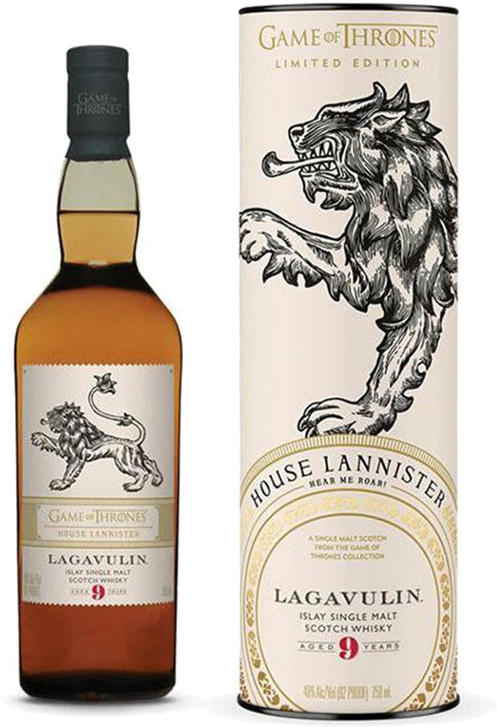 Lagavulin 9 Year Old Islay Single Malt Scotch Whisky Game of Thrones