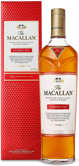 Load image into Gallery viewer, The Macallan Classic Cut Highland Single Malt Scotch Whisky 2019