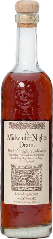 High West A Midwinter Nights Dram