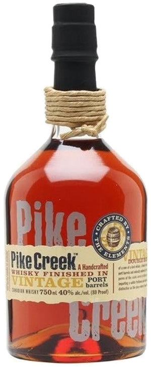 Pike Creek Canadian Whisky Finished In Port Barrels