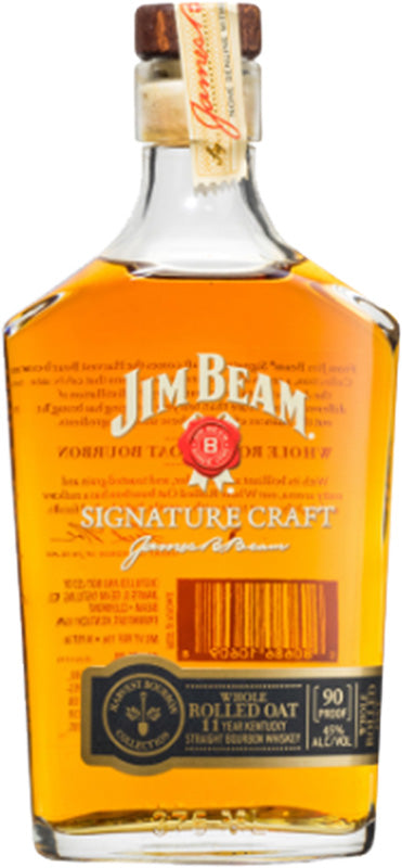 Jim Beam 11 Year Old Signature Craft Rolled Oat