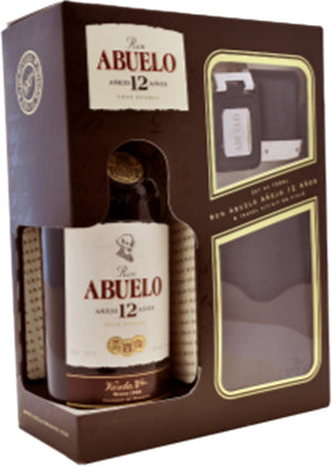 Ron Abuelo 12 Year Old Rum Gift Set