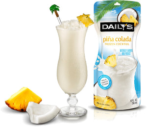 Load image into Gallery viewer, Daily's Pina Colada Frozen Pouch 10oz