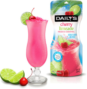 Load image into Gallery viewer, Daily's Cherry Limeade Frozen Pouch 10oz