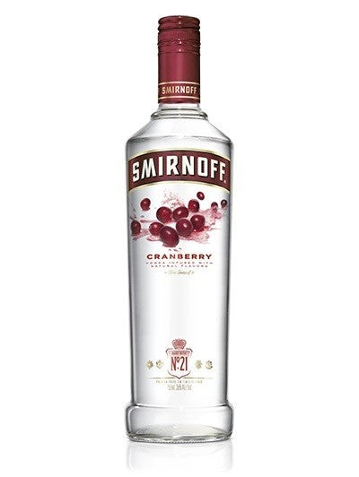 Load image into Gallery viewer, Smirnoff Cranberry Vodka
