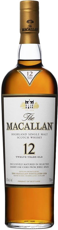 Load image into Gallery viewer, The Macallan 12 Year Old Sherry Oak Single Malt Scotch Whisky