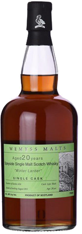 Load image into Gallery viewer, Wemyss Winter Larder 20 Year Old Single Malt Cask Scotch Whisky