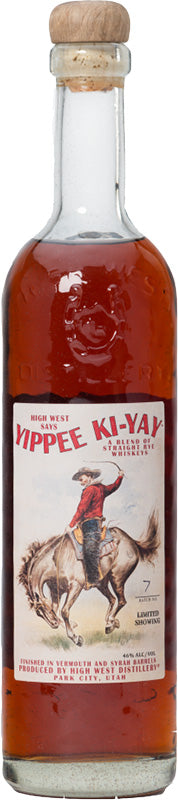 Load image into Gallery viewer, High West Yippee Ki-Yay Straight Rye Whiskey