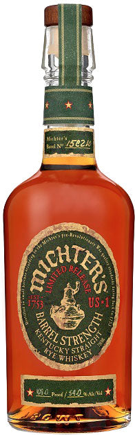 Michter's Barrel Strength Straight Rye Whiskey