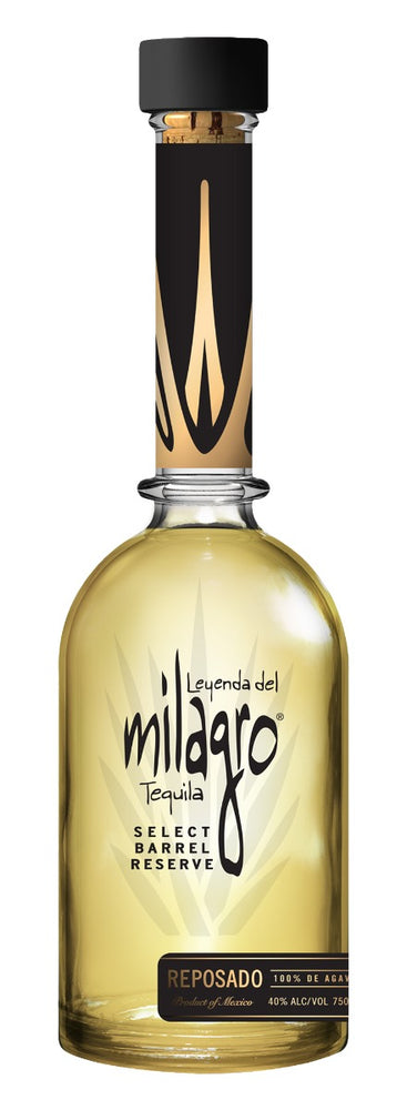Milagro Select Barrel Reserve Tequila Reposado