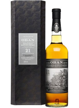 Load image into Gallery viewer, Oban 21 Year Old Single Malt Scotch Whisky