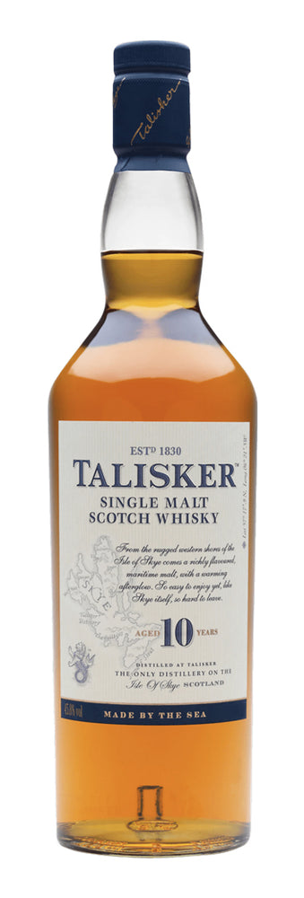 Load image into Gallery viewer, Talisker 10 Year Old Single Malt Scotch Whisky