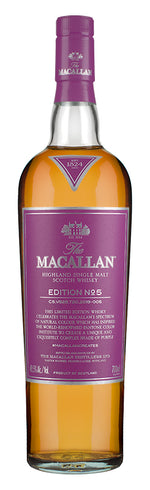 The Macallan Edition No.5 Single Malt Scotch Whisky