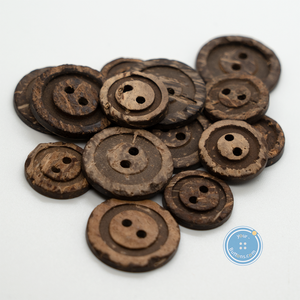 (3 pieces set)2hole coconut Sewing button