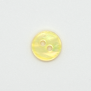 (3 pieces set) 10mm Mother of Pearl (DTM Yellow)