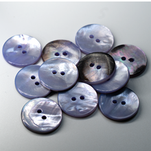 Load image into Gallery viewer, (3 pieces set) 23mm MOP shell Button in Purple