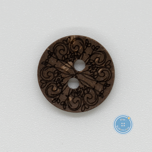 (3 pieces set) Sewing button with Classic Flower