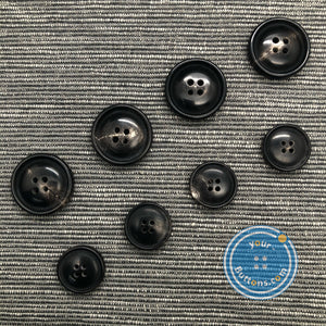 4hole horn suit button doom with small rim