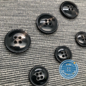 4hole horn suit button doom with small rim special thread hole