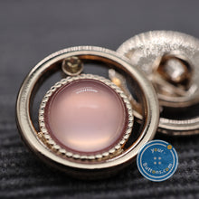 Load image into Gallery viewer, (3 pieces set)Comet style shank button Pink