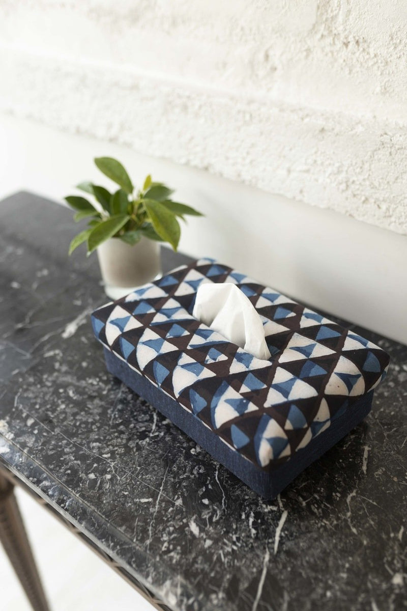 Nilay- Hand Woven Tissue Box - Veaves