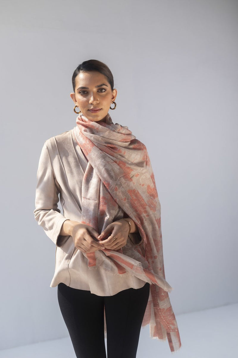 Sillage Cashmere Stole - Veaves