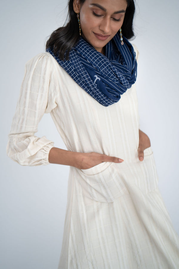 Beatific  Cotton Jamdani Stole