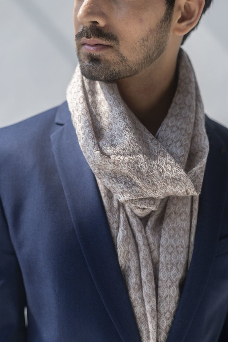 Meira Soft Wool Stole - Veaves