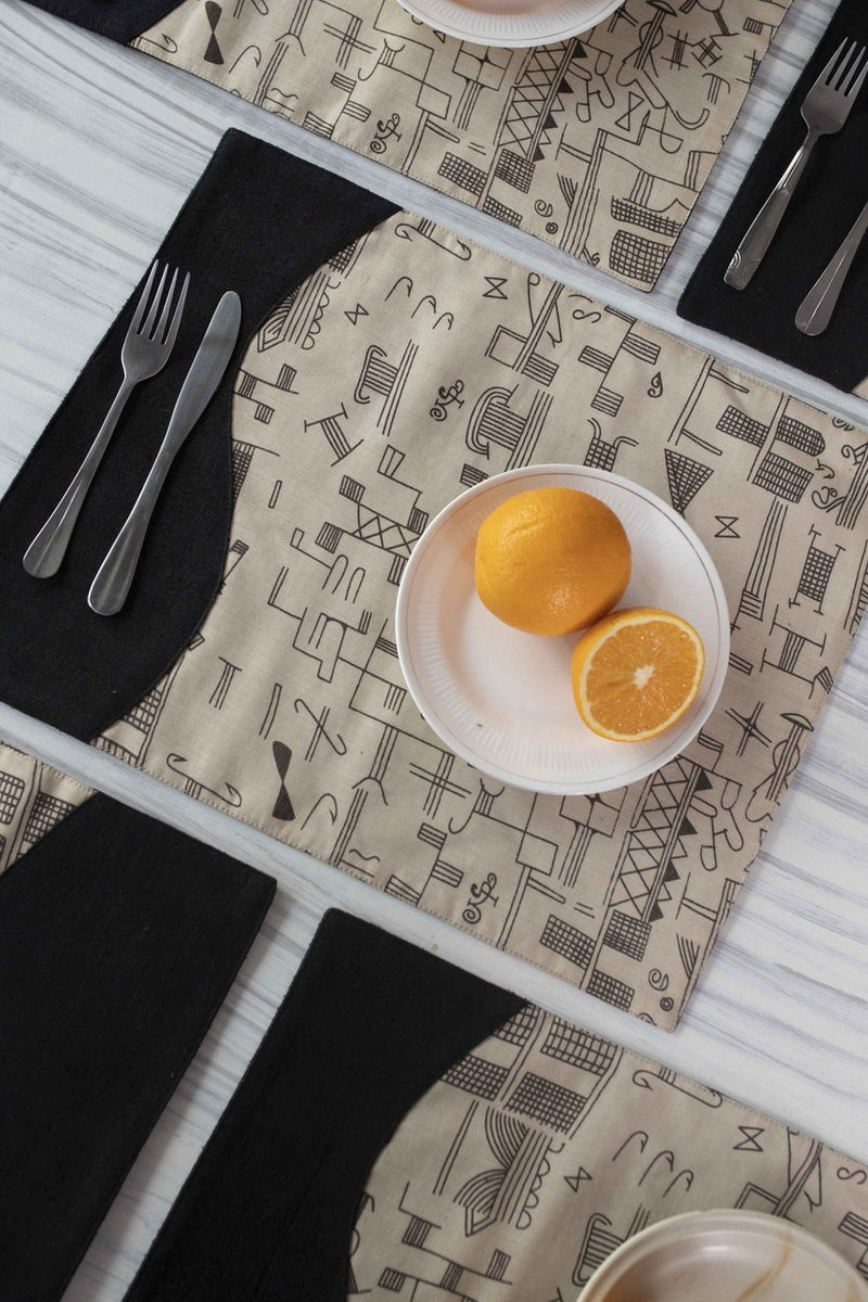 Insolite Table Mats - Set Of 6 Pcs