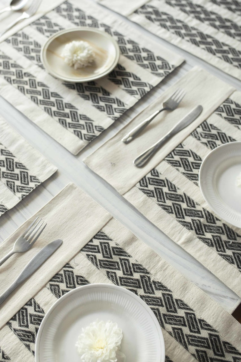Bella ame Table Mats - Set of 6 Pcs