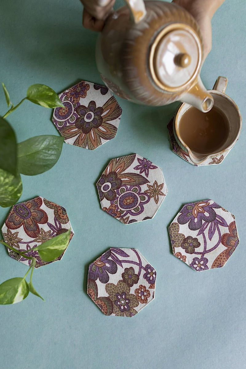 Mir Coasters - Set Of 6 Pcs - Veaves