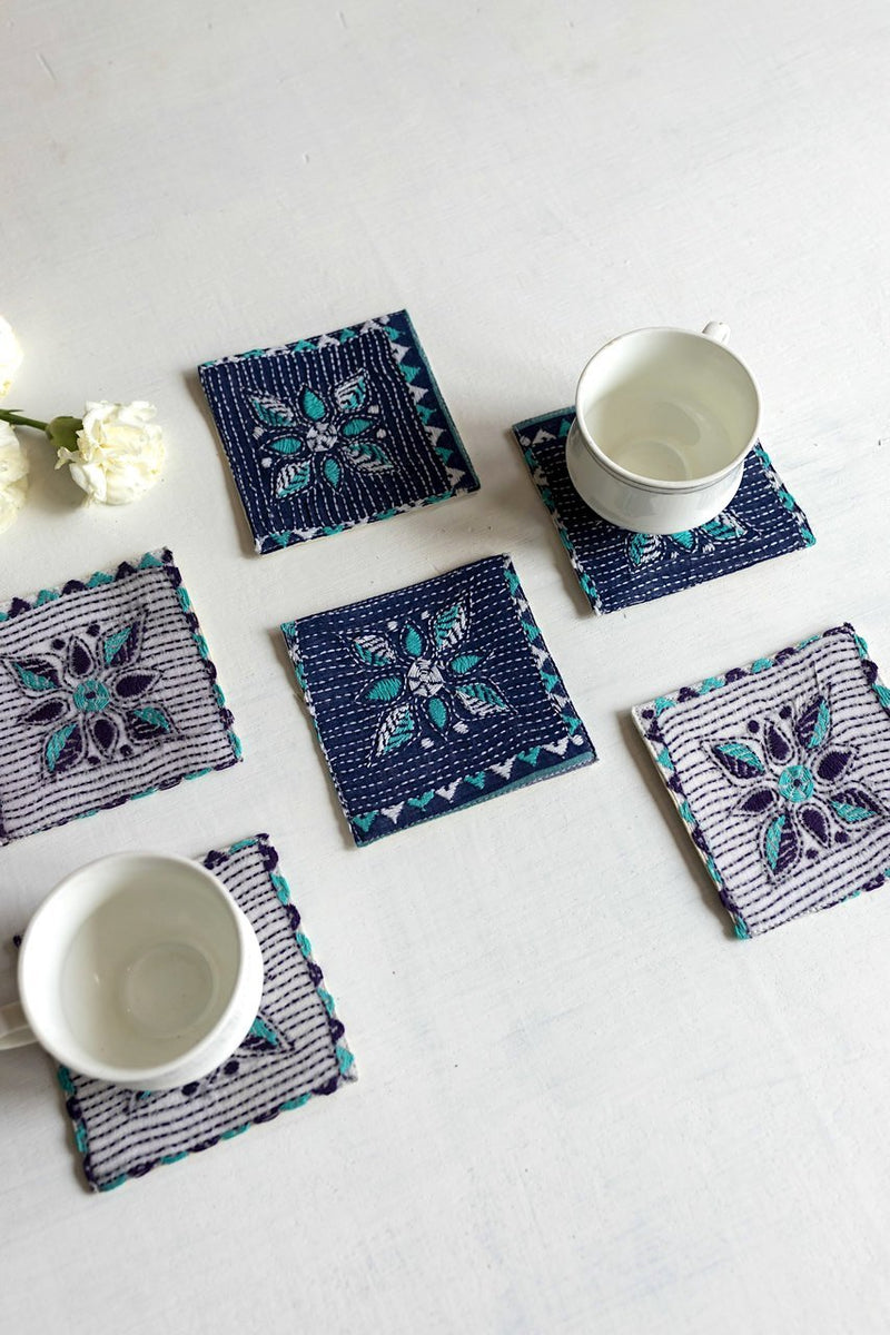 Sulit Coasters - Set Of 6 Pcs - Veaves