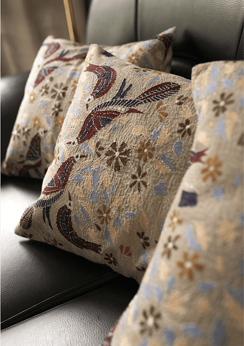 Hayat Cushions  - Set Of 3 Pcs - Veaves